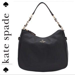 💕SALE💕Kate Spade Black Nylon Pine Street Bag